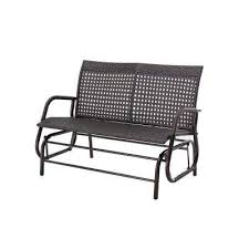 Patio Furniture Glider by Wicker Patio Furniture Outdoor Gliders Patio Chairs The Home
