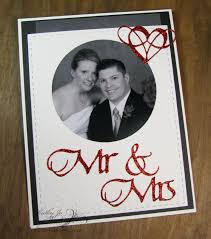 wedding announcement cards quietfire creations mr mrs wedding announcement card with