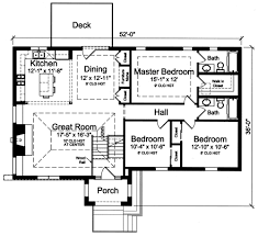 Split Level Homes Plans House Plans Drawn With Bi Level Split Foyer By Studer Residential