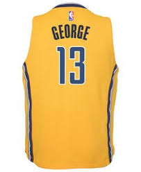 jersey design indiana pacers adidas kids paul george indiana pacers swingman jersey paul