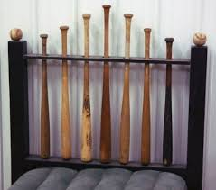 themed headboards best 25 baseball bat headboard ideas on baseball