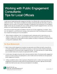 Tip Sheet For Your Creative Working Effectively With Engagement Consultants Tips For