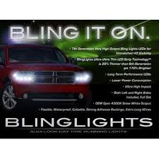 What Are Drl Lights Blinglights Dodge Durango Led Drl Light Strips Headlamps