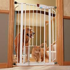Interior Pet Door For Cats Dog Gate With Cat Door Interior U0026 Exterior Doors