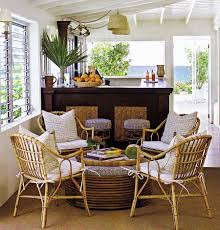 Wicker Living Room Chairs by Interior Entrancing Image Of Small Sunrooms Decoration Using