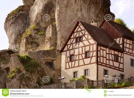 typical house in north bavaria germany royalty free stock photo