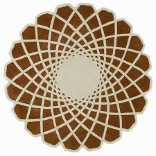Round Area Rugs Contemporary by Gandia Blasco Caleido Modern Area Rug 7 U00275