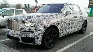 rolls royce suv rolls royce culligan prototype spotted on the road the new 2017