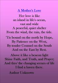 Mother And Daughter Love Quotes by Love Poems Missing Her As A Mother She Took Her Role Even More