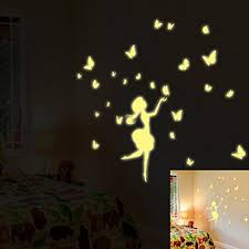 Glow In The Dark Home Decor Fluorescent Fairy Wall Sticker Oksale 7 9 X 11 8 Inch Glow In
