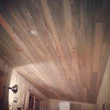 beautiful stain beetle pine ceiling and walls