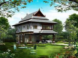 Thai Home Design Mesmerizing Thai Home Design Thai Home Design Home And Design Gallery Model
