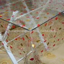 thick plastic table cover pvc curtain roll plastic table cover of laminated table cloth buy