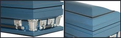blue casket regal blue casket casket manufacturer of wood caskets metal