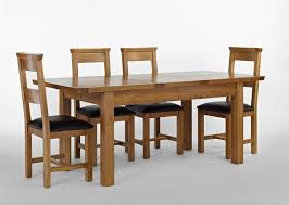 Oak Dining Table Chairs Oak Dining Table