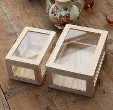 where can i buy boxes for gifts aliexpress buy free shipping zakka wooden glass storage box