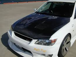 altezza car black type ii carbon bonnet hood is300 altezza