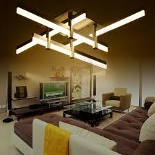 large led bar to ceiling light modern cool lighted