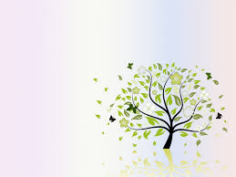 folio tree nature ppt backgrounds green nature templates ppt