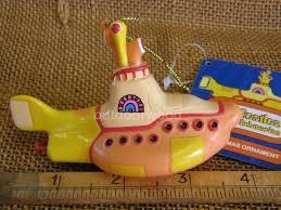 kurt adler the beatles yellow submarine ornament ebay