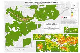 colorado population map statistics planning division mesa county colorado