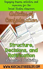 articles of confederation strengths and weaknesses sorting