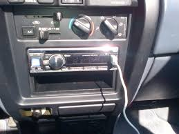 toyota 4runner radio 3rd stereo unit install w pic s toyota 4runner forum