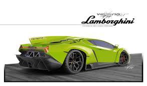 Lamborghini Veneno Green - someone rendered a lamborghini veneno superveloce we think it u0027s