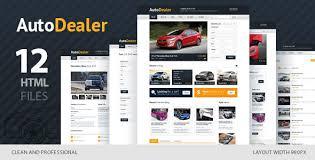 auto dealer car dealer html template themelock com free