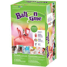 balloon shop milford ct balloon balloon time 9 5 helium balloon tank kit with 30 balloons walmart