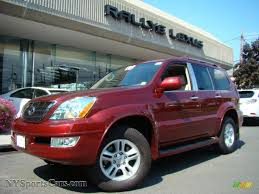 red lexus 2008 2008 lexus gx 470 in salsa red pearl 153148 nysportscars com