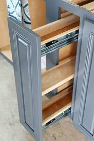 Narrow Spice Cabinet Pull Out Spice Shelves Also Great For Cooking Oils Vinegars