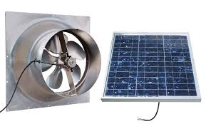 roof vent solar attic fan