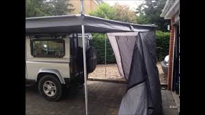 Awning Walls Tuff Trek Awning Youtube