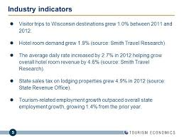 Wisconsin travel calculator images The economic impact of tourism in wisconsin ppt download jpg