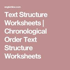 best 25 text structure worksheets ideas on pinterest science