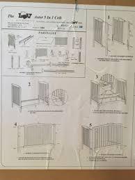 Delta Soho 5 In 1 Convertible Crib by Delta 5 In 1 Crib Cribs Decoration