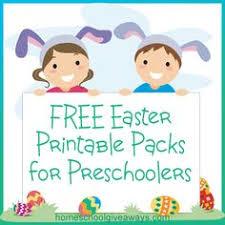 printable easter worksheets preschool cutting practice