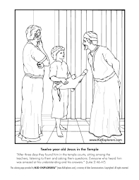 bible stories for toddlers coloring pages jesus went to church when he was 12 coloring google search