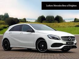 mercedes 180 a class mercedes a class a 180 d amg line premium plus white 2016