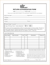 Customer Service Resume Words Return Authorization Form Manager Resume Words 48798969 Form Masir