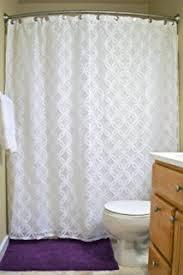Amazon Com Shower Curtains - white eyelet shower curtain curtains wall decor