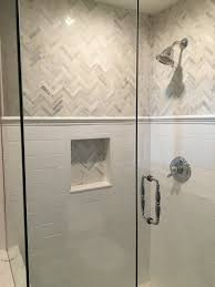 Powder Room Cabinets Vanities Bathroom Shower Tile Grey Reddish Oak Laminate Bath Vanity Storage