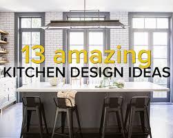 amazing kitchen ideas 13 amazing kitchen design ideas domino