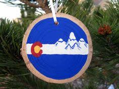 colorado flag ornament by barnyardfinds on etsy https