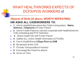 dcfs help desk phone number welcome healthworks training ppt download