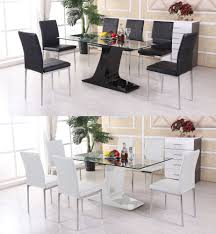 chair delightful chair dining room table best modern glass set