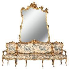 canapé récamier canape recamier 19th century german sofa and mirror or canape de