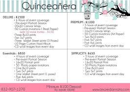 quinceanera packages quinceañera questionnaire d annata photography