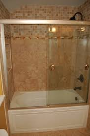 add style to a tub u0026 shower combo in the bathroom